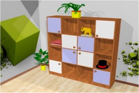 Кровать-чердак К27 мебель для детской