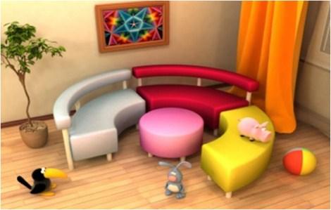 Мягкую мебель для детского сада