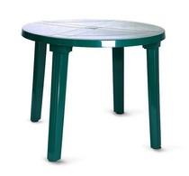 Стол круглый 102001 зелёный