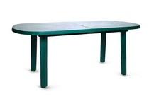 Стол овальный 103001 зелёный