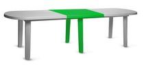 Вставка для овального стола 200001 зелёная