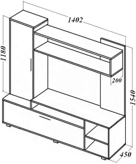 Описание: Мебель для гостиной.