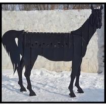 Мангал Конь черный