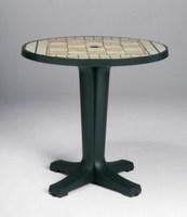 Стол MARTE 78 зеленый, мозаика Siena