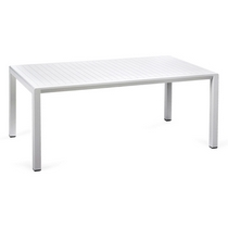 Пластиковый стол ARIA 100 (белый)