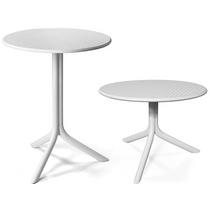 Пластиковый стол STEP (белый)